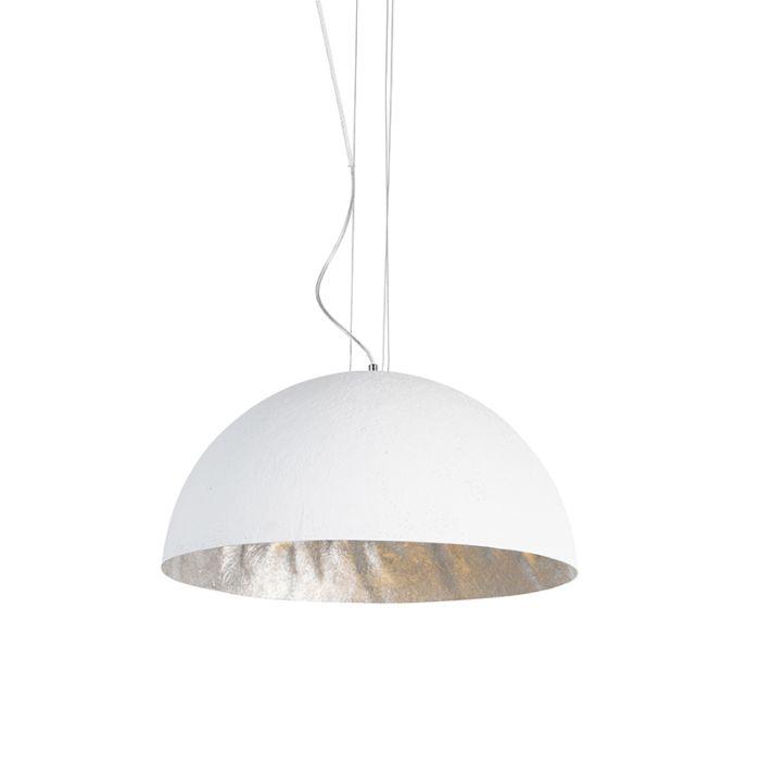 Moderná-závesná-lampa-biela-50-cm---Magna
