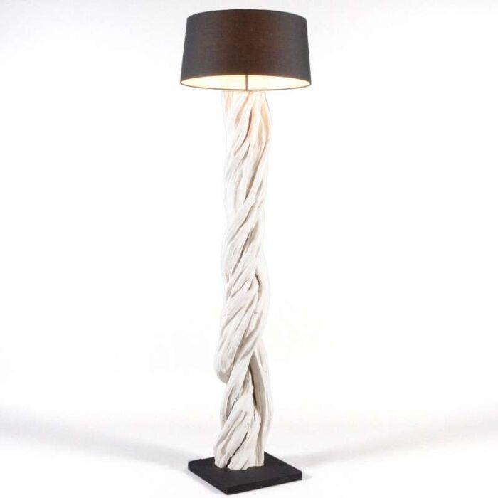 Stojacia-lampa-Arich-s-čiernym-tienidlom