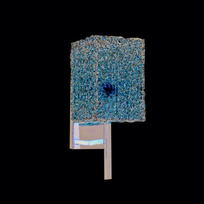 Nástenné-svietidlo-Draht-Square-hliník