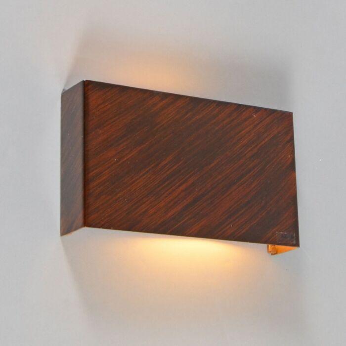 Nástenné-svietidlo-Otan-rust-brown
