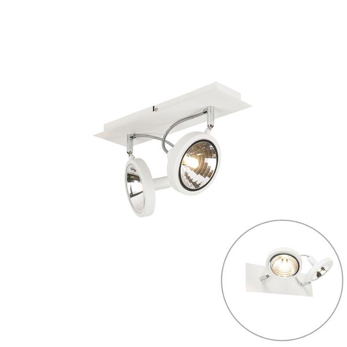 Dizajnové-bodové-biele-nastavenie-2-svetiel---Nox