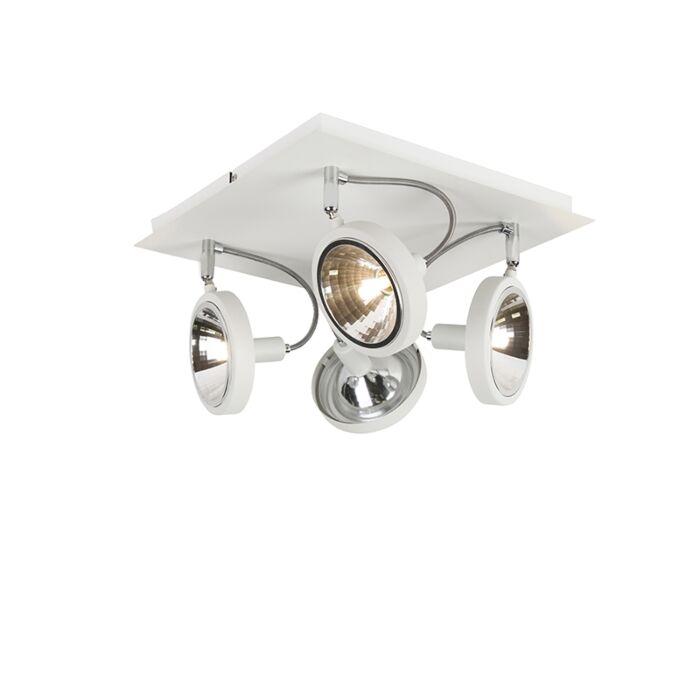 Dizajnové-bodové-biele-nastavenie-4-svetiel---Nox