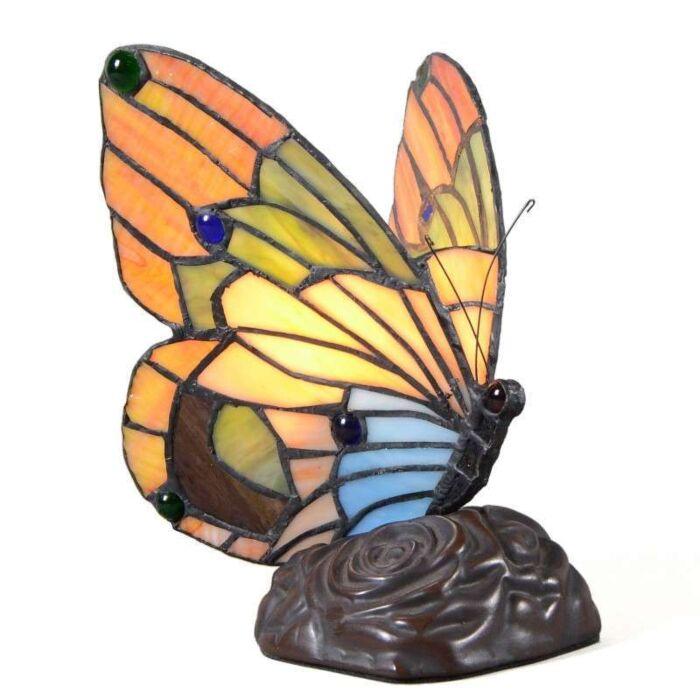 Stolová-lampa-Tiffany-Butterfly