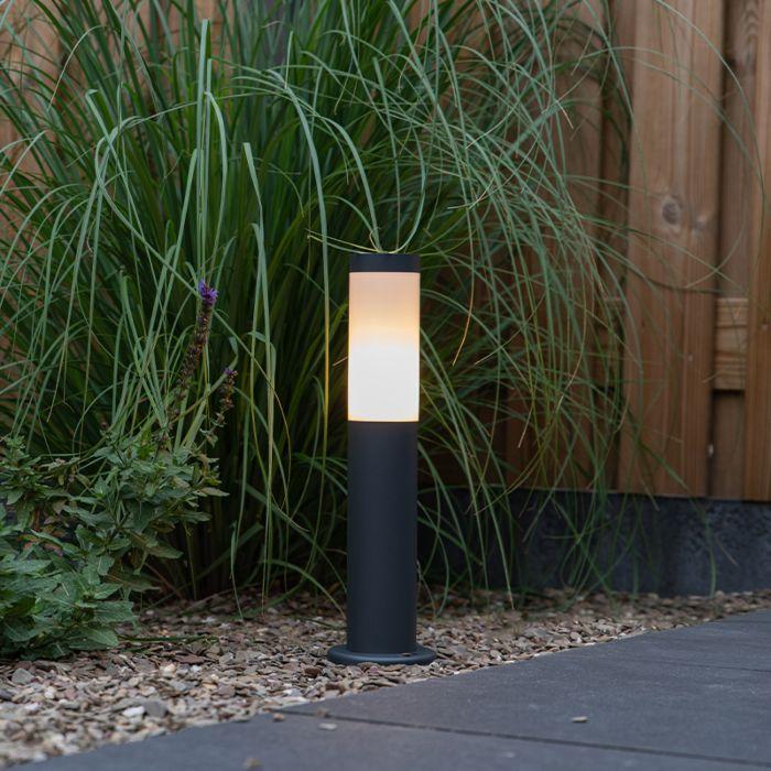 Vonkajšia-tyč-na-svetlo-antracitová-45-cm-IP44---Rox