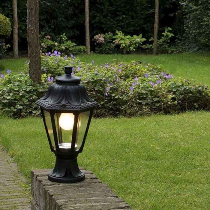 Vidiecky-stojan-na-vonkajšie-lucerny-čierny-IP44---Anna