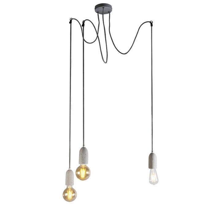 Priemyselná-závesná-lampa-šedý-betón---Cava-3