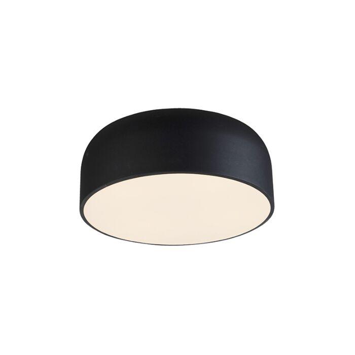 Dizajnové-stropné-svietidlo-čierne-stmievateľné---Balon