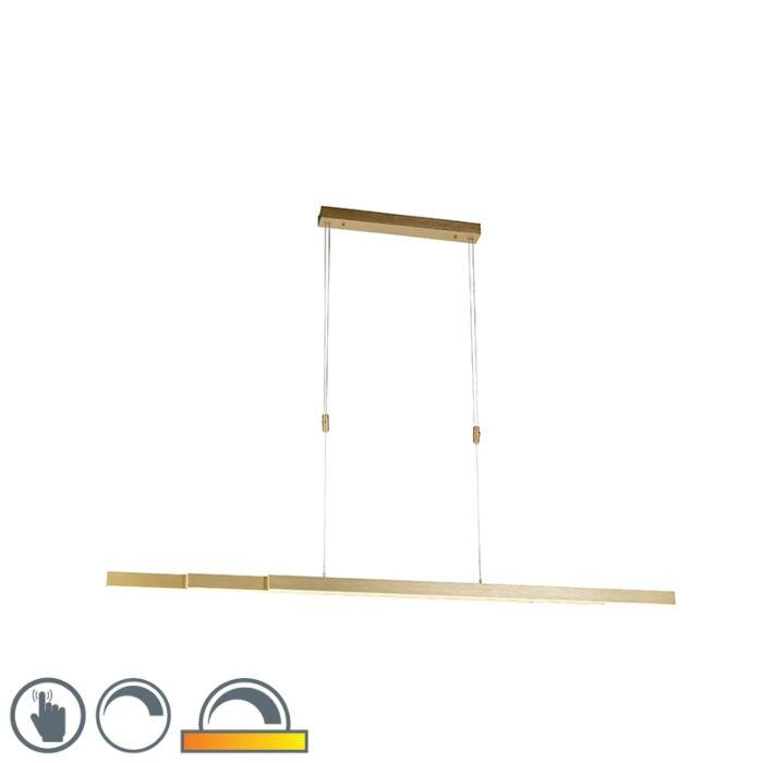 Nastaviteľné-mosadzné-závesné-svietidlo-stlmené-na-teplo-vrátane-LED---Juliet